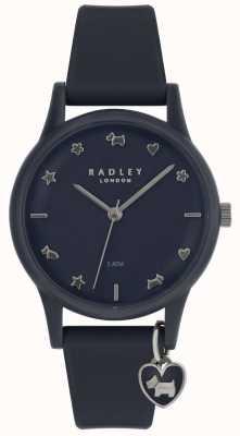 Radley Montre femme avec bracelet en silicone et index en argent RY2691