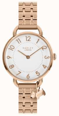 Radley Mesdames montre bracelet d'épaule ouverte en or rose RY4344