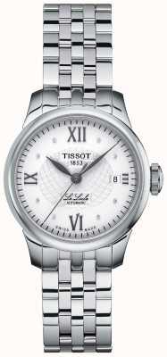Tissot Montre automatique le diamant mince sertie de dames le locle T41118316