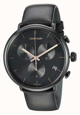 Calvin Klein Montre chronographe haute midi pour homme K8M274CB