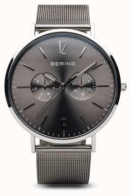 Bering Classique | argent poli | Pour des hommes 14240-308