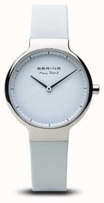 Bering Max rené | argent poli | bracelet en silicone 15531-904