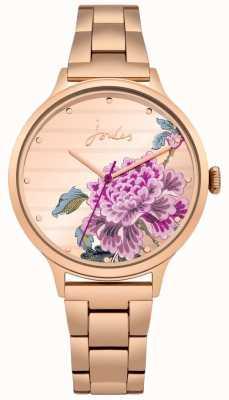 Joules Bracelet pvd pour femme en or rose avec flore florale JSL002RGM
