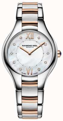 Raymond Weil Bracelet bicolore diamant noemia femme 5132-SP5-00985