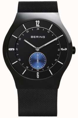 Bering Montre homme xl quartz analogique en acier inoxydable 11940-228