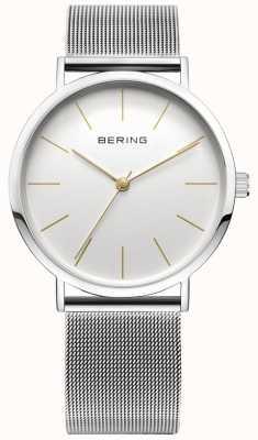 Bering Montre de collection classique avec bracelet en maille et résistance aux rayures 13436-001