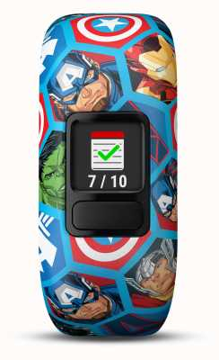 Garmin Sangle extensible Vivofit jr2 marvel avengers 010-01909-02
