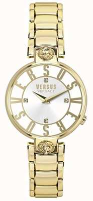 Versus Versace Femmes Kristenhof | cadran argenté | or en acier inoxydable VSP490618
