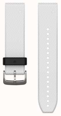 Garmin Bracelet caoutchouc blanc quickfit 22mm fenix 5 / instinct 010-12500-01