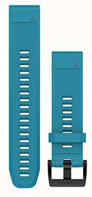 Garmin Bracelet caoutchouc bleu cirrus quickfit 22mm fenix 5 / instinct 010-12496-04