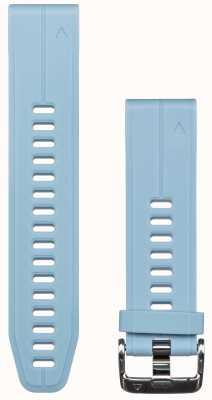 Garmin Bracelet en caoutchouc bleu quickfit 20mm fenix 5s 010-12739-03