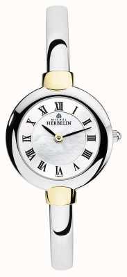 Michel Herbelin Montre bracelet dames argent | or | cadran en nacre 17413/BT29
