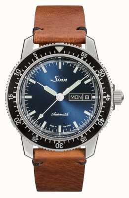 Sinn 104 st sa ib | bracelet en cuir marron vintage 104.013 VINTAGE BROWN LEATHER
