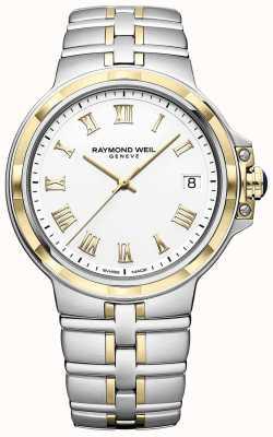 Raymond Weil Parsifal bicolore | or et acier inoxydable | montre homme 5580-STP-00308