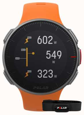 Polar Vantage v (avec sangle hr) bracelet orange multisport gps 90069666