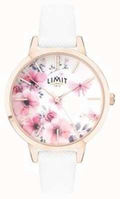 Limit | montre de jardin secret pour femmes | cadran floral rose et blanc | 60021
