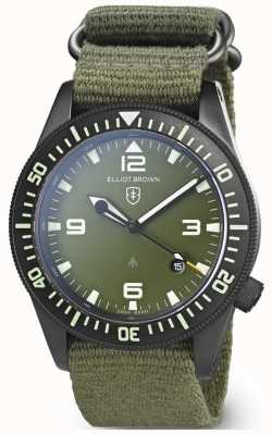 Elliot Brown | hommes | holton professionnel | sangle verte 101-002-N01