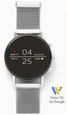Skagen Maille connectée smartwatch en acier inoxydable SKT5102