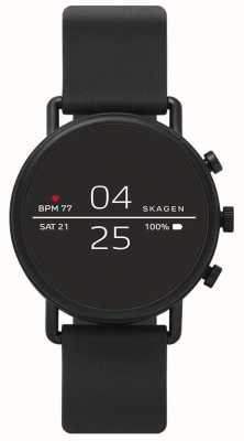 Skagen Smartwatch connectée en silicone noir SKT5100