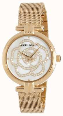 Anne Klein | montre fleur pour femme | ton or | AK/N3102MPGB