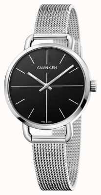Calvin Klein | même regarder | bracelet en acier inoxydable | cadran noir | K7B23121