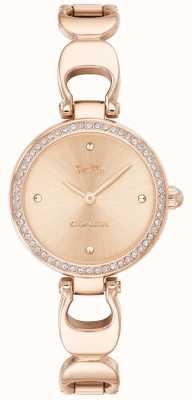Coach | montre de parc pour femmes | bracelet en or rose visage en or rose | 14503172