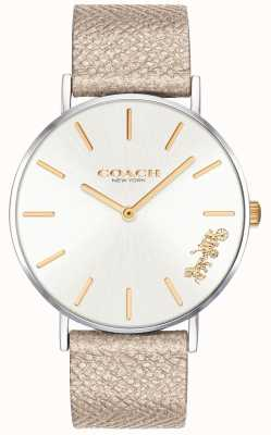 Coach | montre femme perry | sangle crème | 14503157