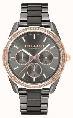 Coach | montre preston | montre chronographe en acier inoxydable | 14503214