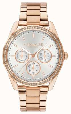 Coach | montre preston | chronographe acier inoxydable or rose | 14503267