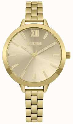 Missguided | montre femme | acier inoxydable or | MG005GM