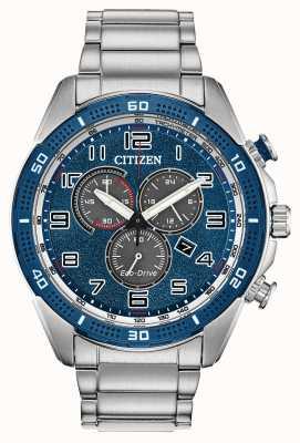 Citizen Action Eco-drive requise Cadran bleu pour homme wr100 AT2440-51L