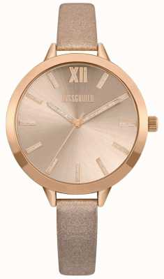 Missguided | Bracelet femme nude et or rose | cadran en or rose | MG005CRG