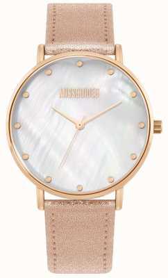 Missguided | bracelet en cuir rose pour femme | MG014RG