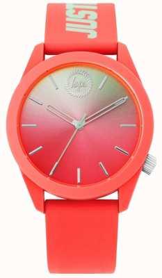 Hype | bracelet en silicone corail dames | HYL020ON