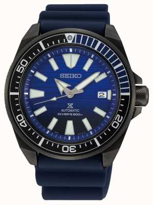 Seiko La série Prospex noire sauve l'océan, édition spéciale SRPD09K1