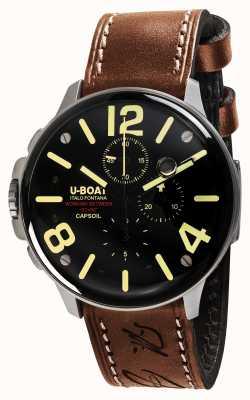 U-Boat Capsoil ss chrono électromécanique 8111