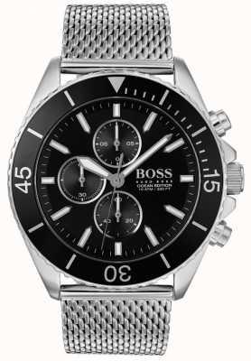 Hugo Boss | montre en acier mens édition océan | 1513701