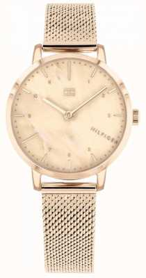 Tommy Hilfiger | montre femme lys or rose | 1782042