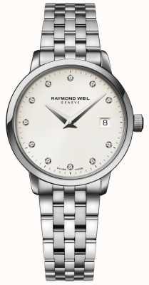 Raymond Weil | montre pour femme avec diamants toccata | 5988-ST-40081