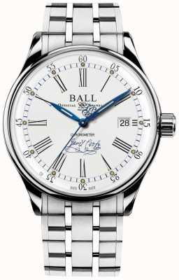 Ball Watch Company Bracelet Trainmaster effort édition limitée chronomètre NM3288D-S2CJ-WH