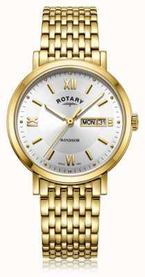 Rotary | bracelet plaqué or messieurs | GB05303/09