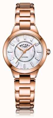 Rotary | bracelet dames en or rose | LB05379/41