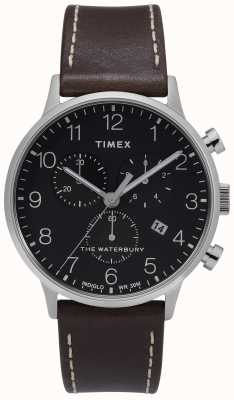 Timex | mens waterbury classic chrono | cadran noir | TW2T28200D7PF