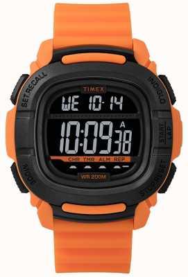 Timex | boost choc orange et noir digital | TW5M26500SU