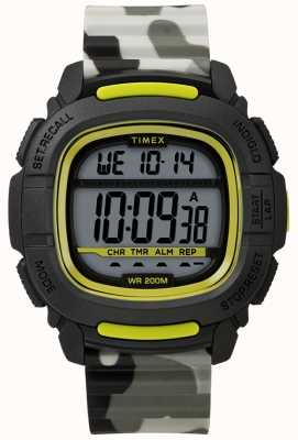 Timex | boost shock noir / lime / camo digital | TW5M26600SU