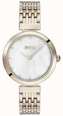 Boss   bracelet dames en métal doré rose pâle   1502480