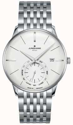 Junghans Meister méga petite seconde | bracelet en acier inoxydable | 058/4900.46