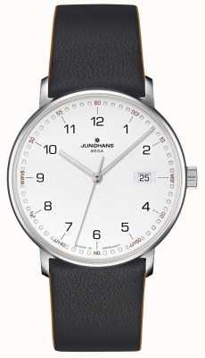 Junghans Form mega cuir noir radiocommandé 058/4931.00