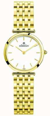 Michel Herbelin Montre-bracelet en acier inoxydable epsilon pour femmes 17116/BP11