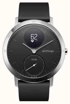Withings Bracelet acier silicone noir 40mm HWA03-40BLACK-ALL-INTER